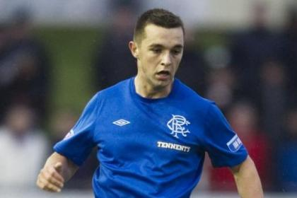 Chris Hegarty has helped Rangers race clear at the top of the Irn-Bru Third Division