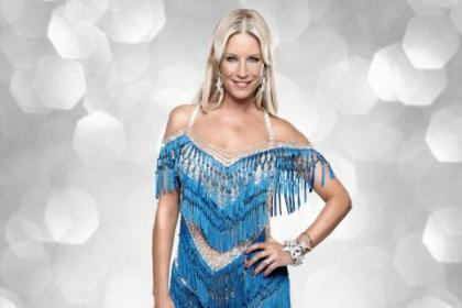 Denise is looking forward to dancing without the pressure of the competition