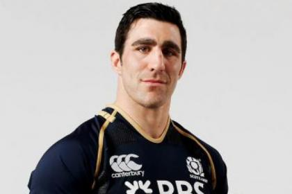 Kelly Brown will captain Scotland at Twickenham on Saturday