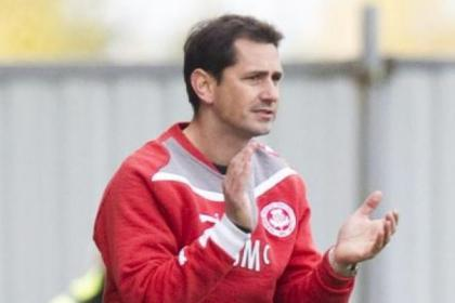 Jackie McNamara leaves Thistle with the club in prime position in the First Division title race and in a cup final