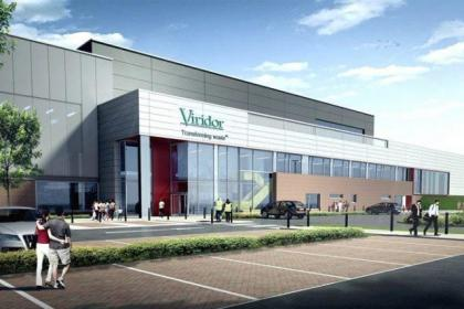 This artist's impression shows how the plant will look
