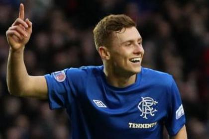 Rangers midfielder Lewis Macleod faces 10 weeks out with a knee injury