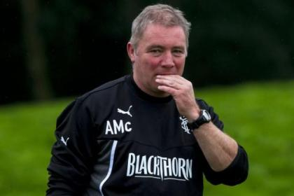 Ally McCoist's Rangers and Hearts will renew rivalry