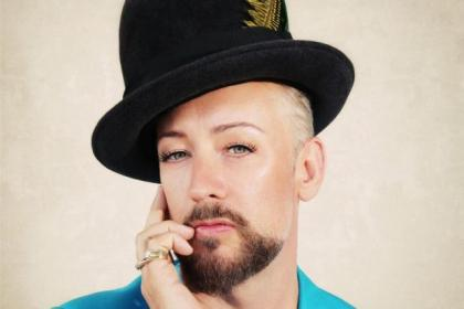 Boy George is playing King Tut's next month