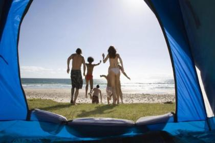 Many people discover camping at festivals but can be hesitant initially about taking the kids for a tent holiday