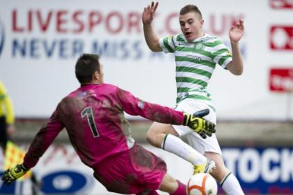 James Forrest scored on his first appearance for Celtic since Boxing Day