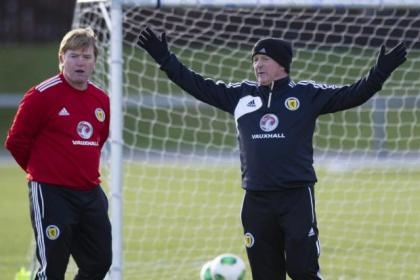 McCall has become part of the coaching staff with Scotland under Gordon Strachan