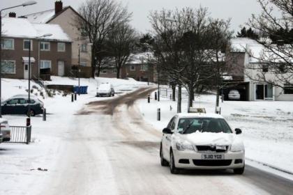 Winter storms bring travel hazards