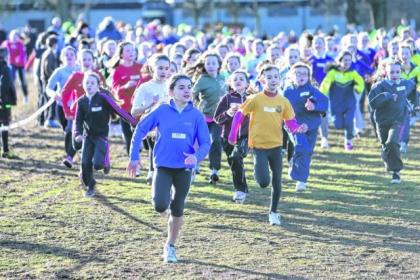 Pollok Park hosted the Active Schools South Glasgow Cross Country Finals