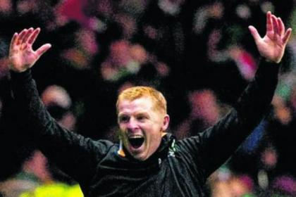 Neil Lennon saw his team send European heavyweights Barcelona to the canvas