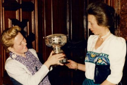 HRH The Princess Royal was guest of honour at the silver anniversary event in 1987, won by 27-year-old nurse Susan Wighton