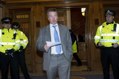 Craig Whyte announces Rangers' intention to go into administration on February 13, 2012