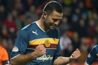 Michael Higdon has set his sights on 25 goals this season