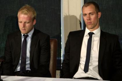 Steven Naismith and Steven Whittaker announce they are leaving Rangers
