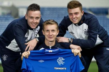 Barrie McKay, Robbie Crawford and Lewis Macleod have made their mark on the Rangers first team this season and each of them have got long-term deals