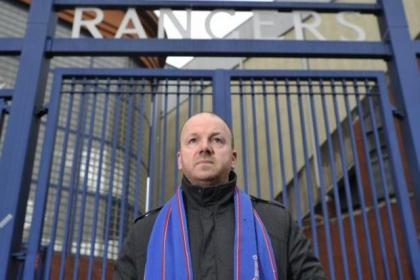 n Months after taking over as new owner, Whyte announced the club was bound for administration n Jim Davison is a life-long Rangers fan whose family contributed to various money-making schemes the club came up with over the years  Picture:  Jamie Simpson Jim Davison is a life-long Rangers fan