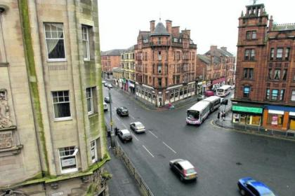 Parkhead Cross is at the heart of the existing conservation area, which is to be extended