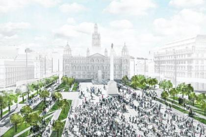 John McAslan's latest vision for how the new George Square could look