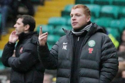 Neil Lennon has challenged Anthony Stokes to make a case for being offered a new deal at Celtic. Picture: Stewart Attwood