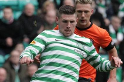 Match action from Celtic v Dundee United. Pictures: Stewart Attwood