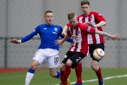 Barrie McKay is a Murray Park graduate who has made the grade in the Third Division