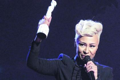 Double joy for Brit winner Emeli Sande