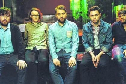 Frightened Rabbit are at Barrowland