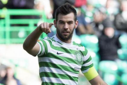 Joe Ledley was the star of the show for Celtic