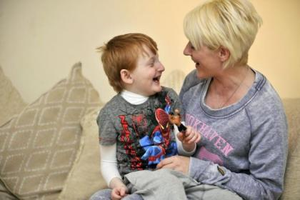 A transplant could offer fresh hope for Aaron and mum Jacqueline