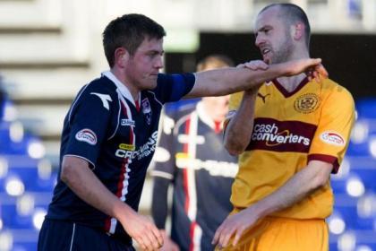 Richard Brittain and James McFadden have a disagreement