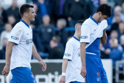 Rangers slumped to a shock defeat at Forthbank in October
