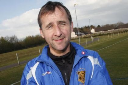 Auchinleck Talbot boss Tommy Sloan could soon be tasting Super Premier League title glory