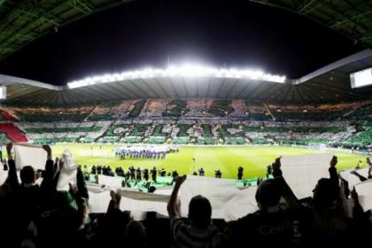 The Hoops fans have packed out Parkhead in the Champions League
