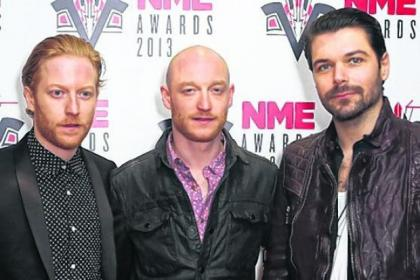 Scots rockers Biffy Clyro were named Best British Band