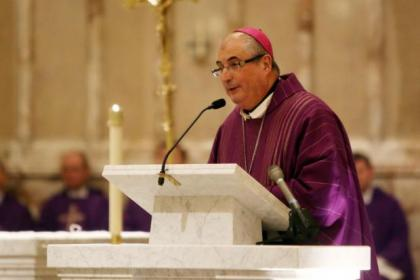 Archbishop Tartaglia takes mass at St Andrew's Cathedral last night