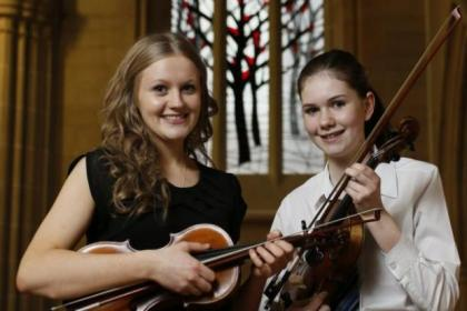 String musicians took centre stage at the festival