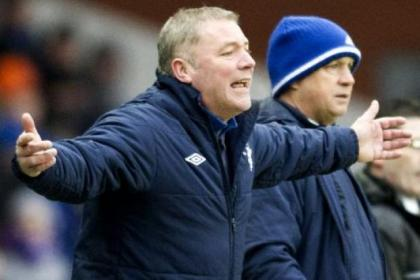 McCoist has seen his team bow out of all three cup competitions