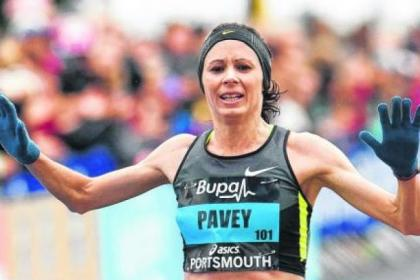 Jo Pavey is Europe's fastest 10,000metres runner