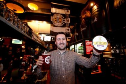 The Bull Inn's general manager Fraser Carson is all ready for Paisley's big day