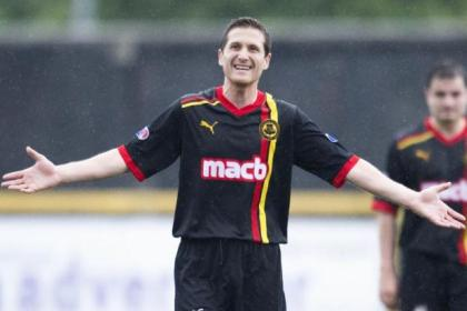 Hugh has enjoyed a fine run of games at Firhill since joining from St Mirren in the summer