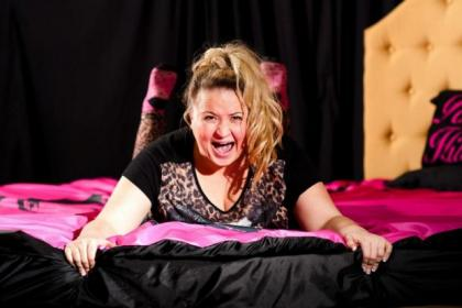 n Leah Macrae as Easterhouse girl Maggie in the new comedy coming to the Pavilion