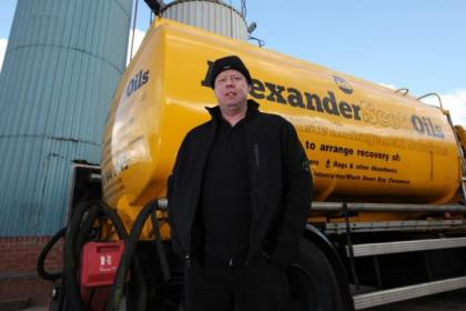 Alexander Macdonald , Managing Director, Alexander Scott Oils Ltd