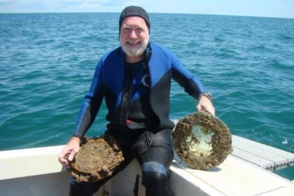 Dr Lee Spence found ship off South Carolina