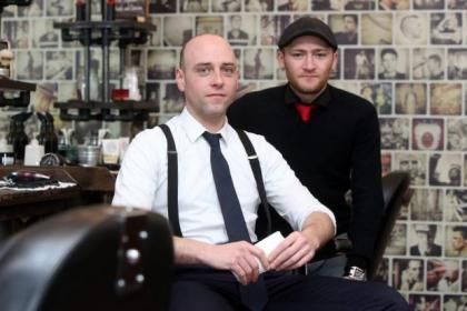 David Tomei and Brian Dewar of Primo Gentlemen's Barber