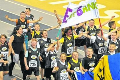 Youngsters get on track at the Emirates Arena in Glasgow