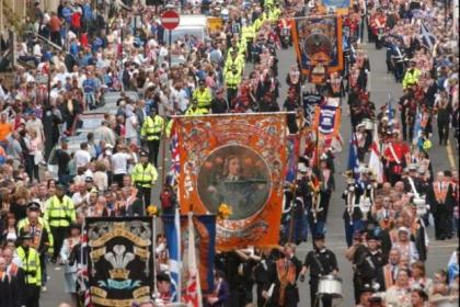 n There will be 57 parades through Glasgow on Saturday