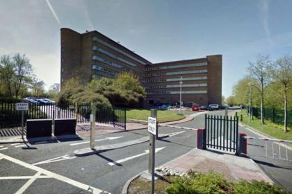 The office for the Department for International Development in East Kilbride