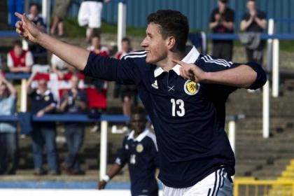 Fraser Aird has featured at youth level for Scotland