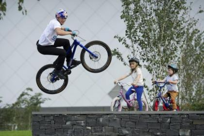 n Danny MacAskill will perform a one-off stunt show at the city event
