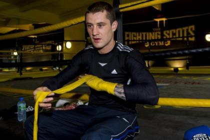 Ricky Burns is fully focused on his fight against Raymundo Beltran